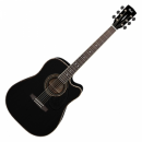 Cort elektro-akusztikus gitár AD 880 CE BK