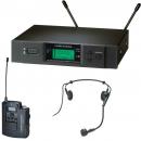 Audio Technica vezetéknélküli mikrofon készlet ATW-3110b/H