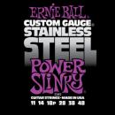 Ernie Ball Húrkészlet elektromosgitárhoz Stainless Steel 11-48 Power Slinky 2245