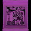 Ernie Ball Húrkészlet elektromosgitárhoz 7 húros készlet 11-58 Nickel Wound 7 Power Slinky 2620