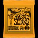 Ernie Ball Húrkészlet elektromosgitárhoz 9-46 Nickel Wound Hybrid Slinky 2222