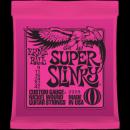 Ernie Ball Húrkészlet elektromosgitárhoz 9-42 Nickel Wound Super Slinky 2223
