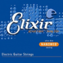 Elixir húrkészlet elektromosgitárhoz Elixir Anti-Rust NanoWeb 9-42 Super Light set