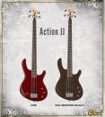 Cort basszusgitár Action JJ OPB