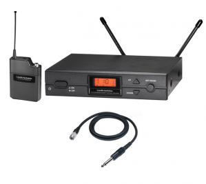 Audio Technica vezetéknélküli mikrofon készlet ATW-2110a/G