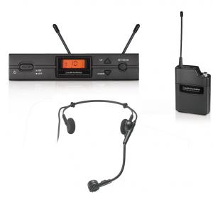 Audio Technica vezetéknélküli mikrofon készlet ATW-2110a/H