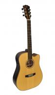 Dowina elektro-akusztikus gitár Danubius DCE-s
