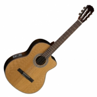Cort elektro-klasszikus gitár AC250CF NAT