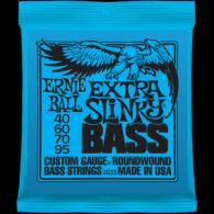 Ernie Ball Húrkészlet basszusgitárhoz Nickel Wound 40-95 Extra Slinky Bass 2835