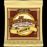 Ernie Ball Húrkészlet akusztikus gitárhoz Earthwood Bronze 11-52 Light 2004