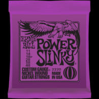 Ernie Ball Húrkészlet elektromosgitárhoz 11-48 Nickel Wound Power Slinky 10-52 2220