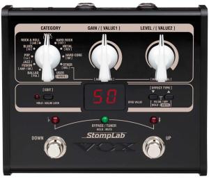 VOX gitár multieffekt Stomplab 1G + ajándék tápegység