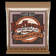 Ernie Ball Húrkészlet akusztikus gitárhoz 12 húros 9-46 Phosphor Bronze Light 2153