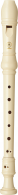 Yamaha furulya YRS-24B szoprán, barokk, műanyag