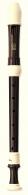 Yamaha furulya YRS-314B szoprán, barokk, műanyag