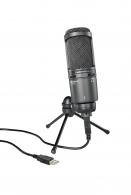 Audio Technica stúdió mikrofon AT2020 USB+